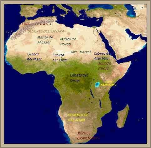 Cordillera del Atlas en Africa-Geografía e Historia de Marrueco y Túnez