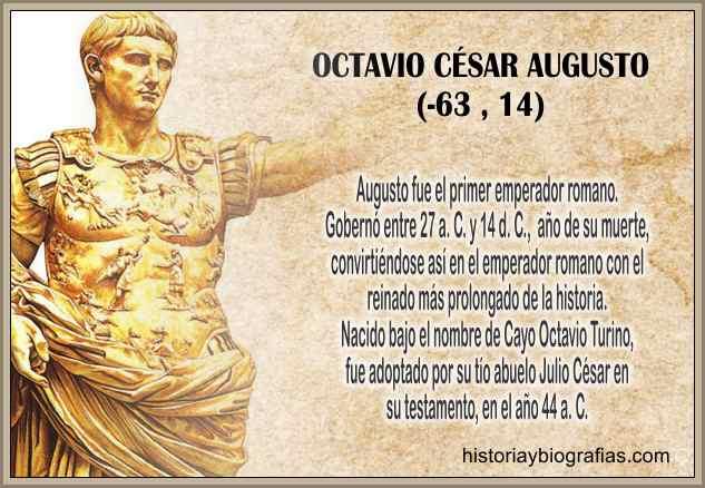 cesar augusto emperador