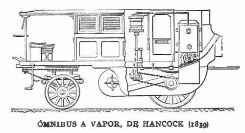 auto a vapor de Gualterio Hancock
