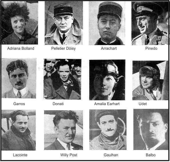grandes aviadores de la historia