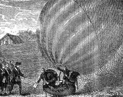 descenso de un globo