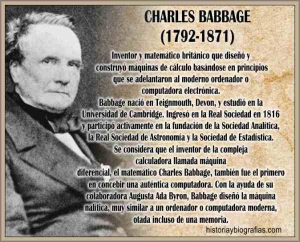Biografia de Babbage