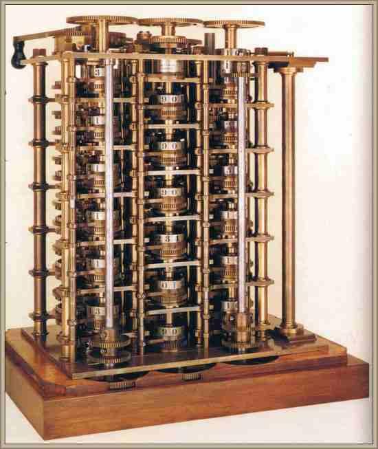 babbageg charles maquina diferencial