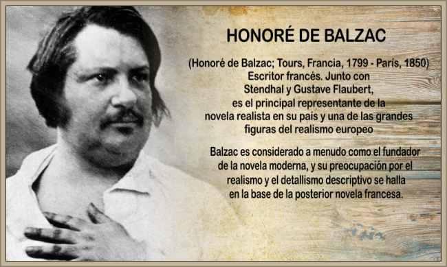 novelista balzac honore