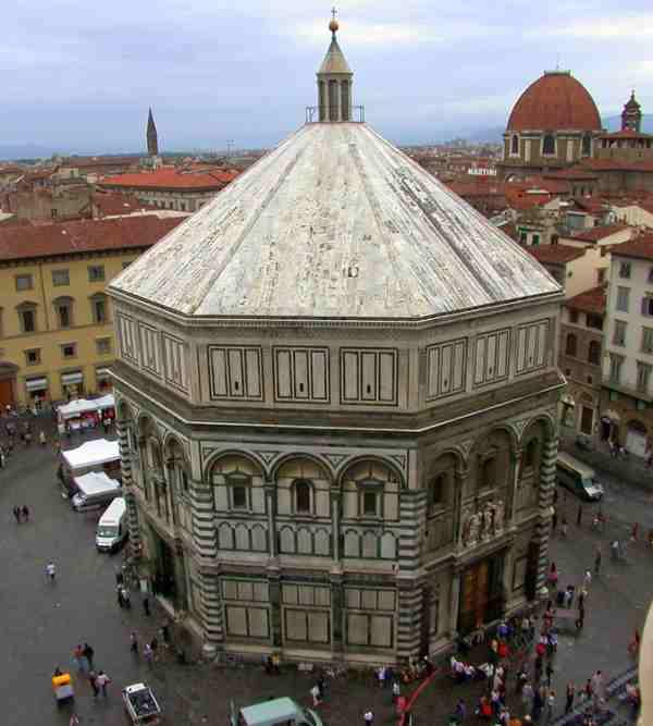 Baptisterio de Florencia (Italia)