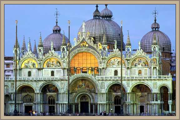 basilica san marcos en venecia