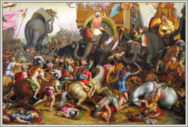 batalla de zama guerras punicas