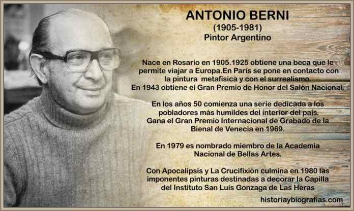 antonio berni biografia pintor argentino