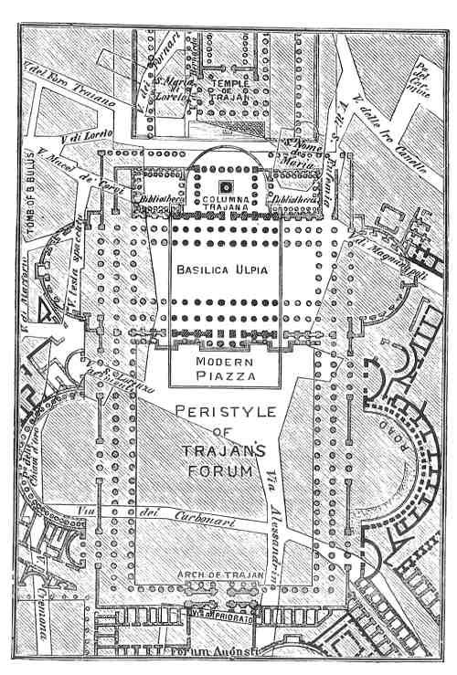 planta de biblioteca romana