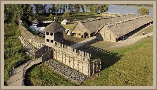 Ciudad de Biskupin Polonia Excavaciones ,Características e Historia