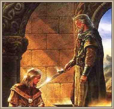 ceremonia caballero -rey edad media