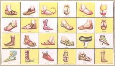 evolución e historia del calzado
