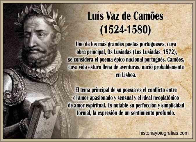 Biografia de Luis Vaz de Camoens