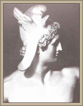 escultura de Canova cabeza de Perseo