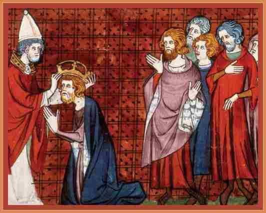 coronacion de carlomagno