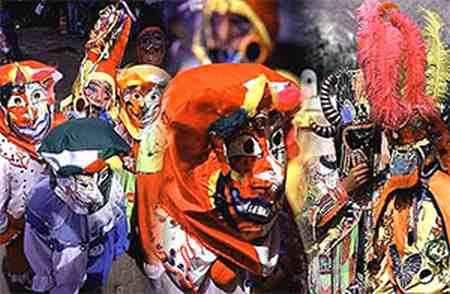 carnaval en el norte argentino