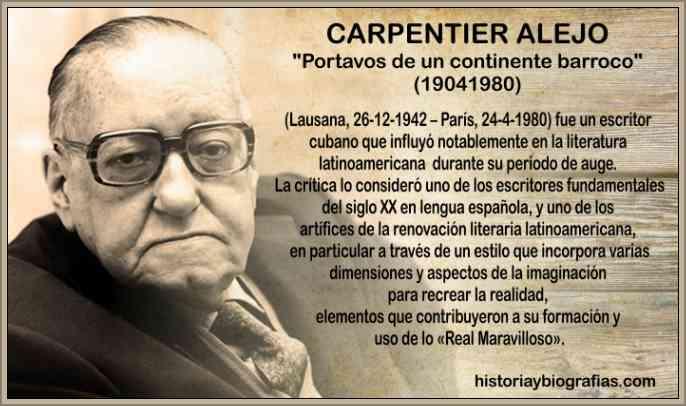 alejo carpentier escritor cubano