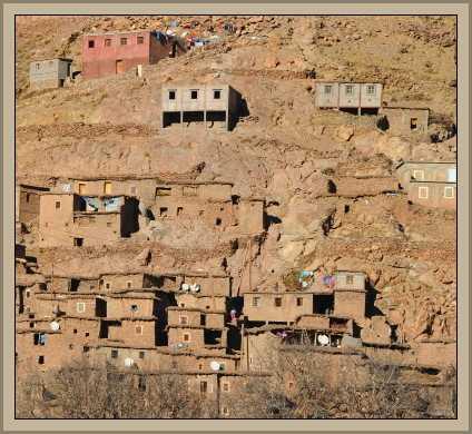 casa de bereber en marruecos