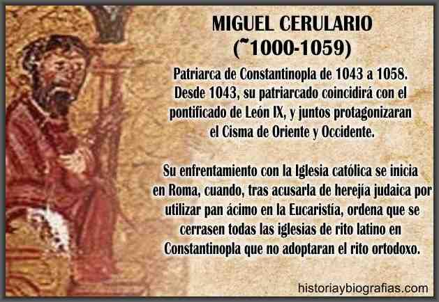 biografia patriarca de oriente cerulario