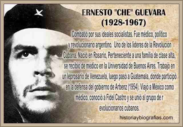 Biografia del «Che» Guevara Ernesto Su Asesinato en Bolivia