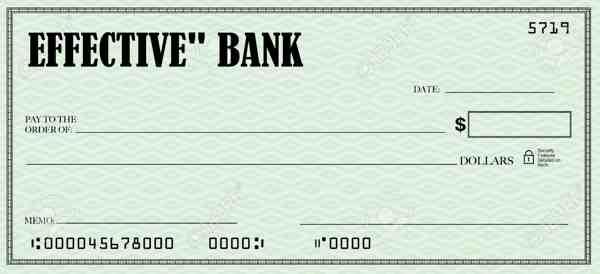 ejemplo de un cheque en blanco