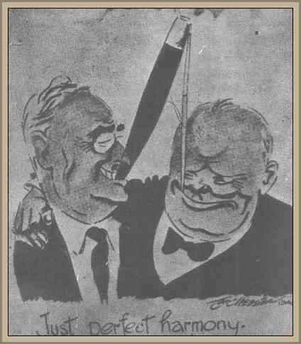 Chruchill y Roosevelt