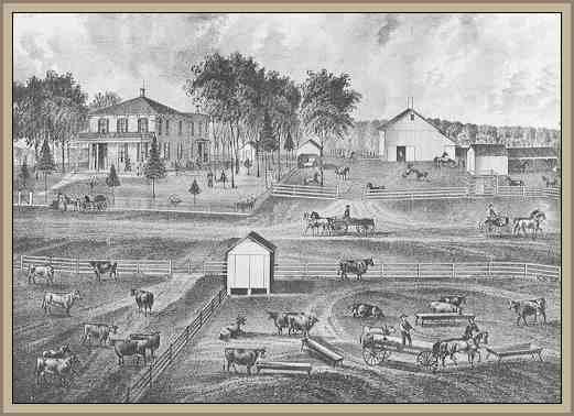 Imagen de una ciudad agrícola