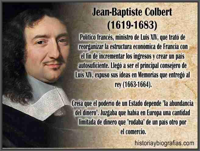 biografia de colbert jean baptiste