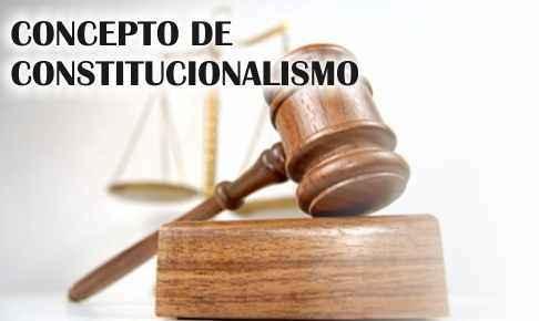 historia del constitucionalismo