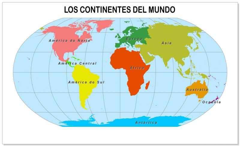 Los Continentes Del Mundo Superficie Poblacion Y Recursos Africa