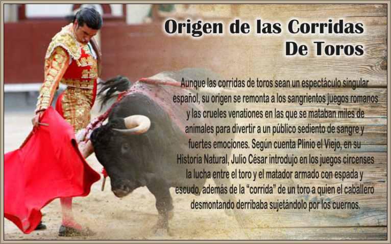 significado corrida de toros historia