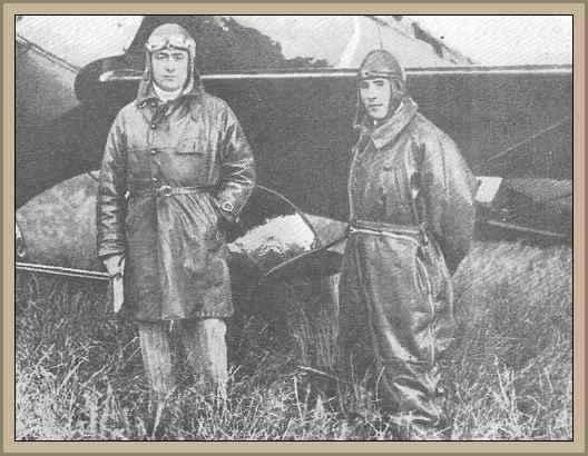 aviadores franceses Costes y Bellonte