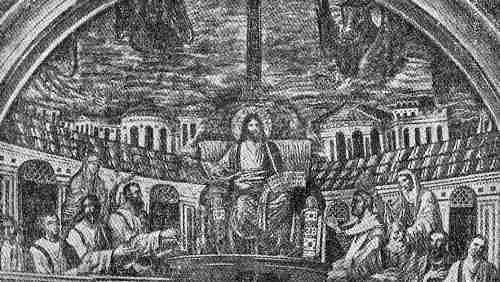 cristo y sus fieles