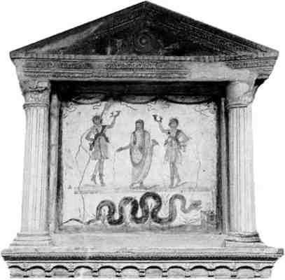 culto a los muertos en roma
