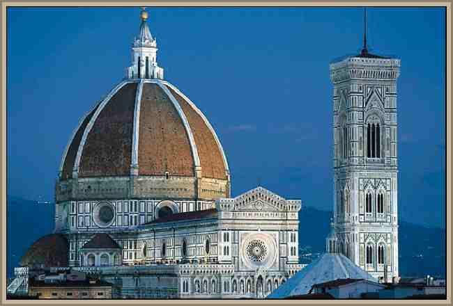 Historia de la Cupula de la Catedral de Florencia - Construccion