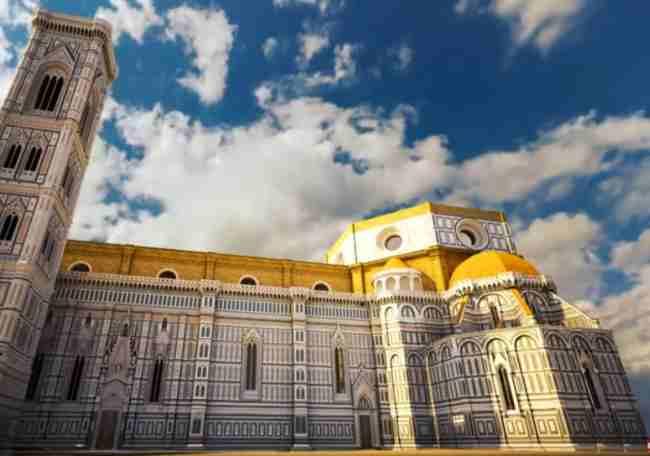 catedral de Florencia sin la cupula