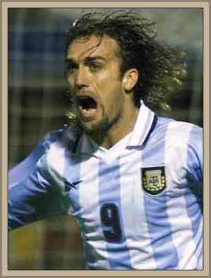 Batistuta goleador argentino