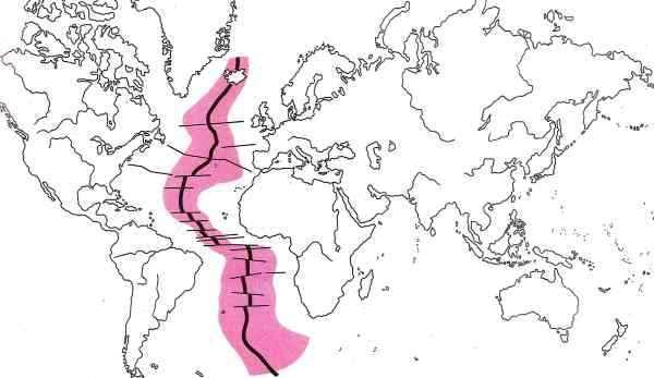 cordillera dorsal mesoatlántica