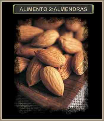ALMENDRA alimentos sanos