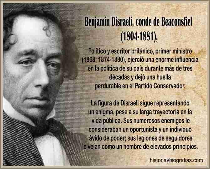 Biografia de Disraeli Isaac