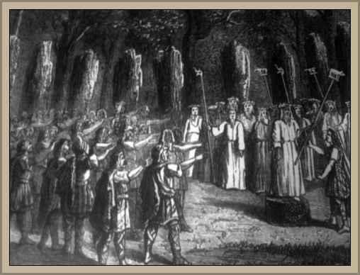 reuinion de sacerdotes druidas