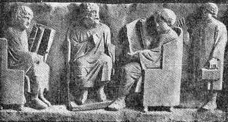 roma antigua formacion de alumnos