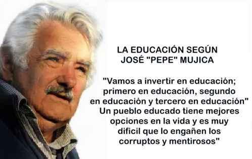 educacion segun pepe mujica