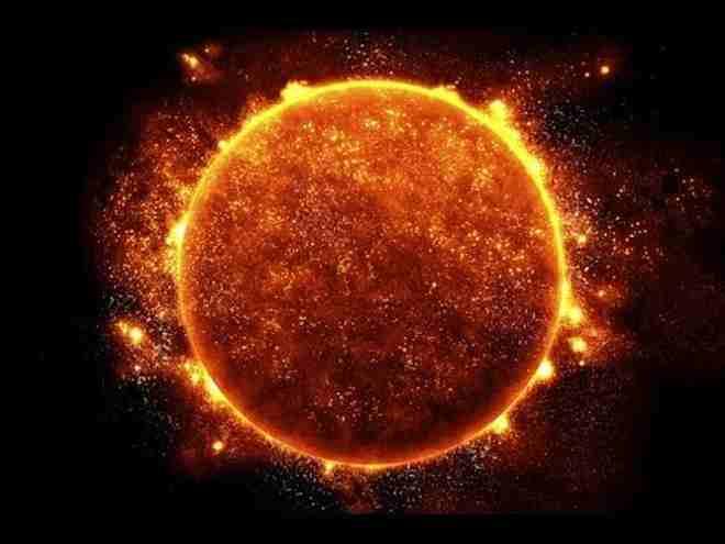 el sol vista