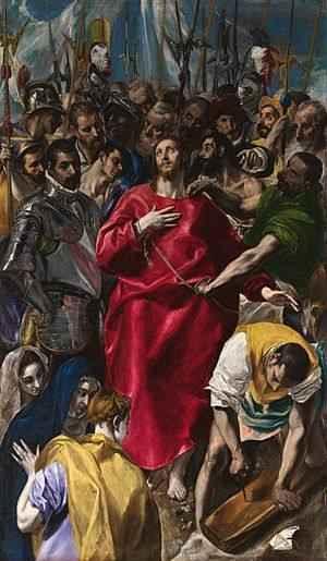 arte español el Greco