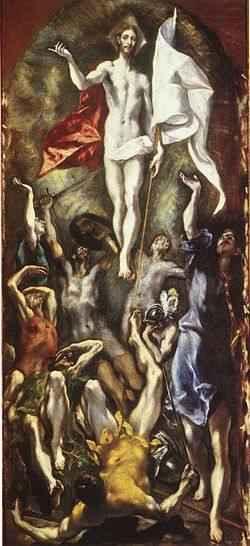 El Greco La Resurrección de Cristo