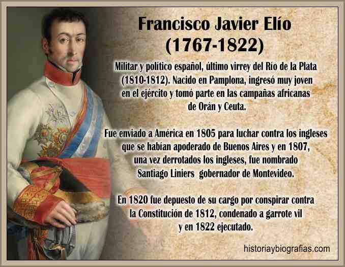 Biografia de Elio Javier Francisco Militar y Virrey