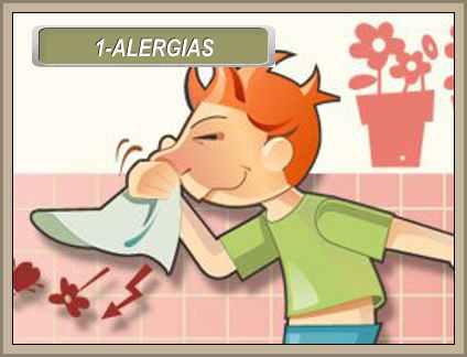 enfermedades comunes alergias