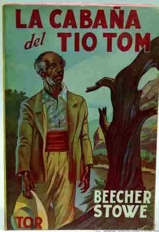 tapa novela La cabana del tío Tom