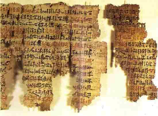 escritura hieratica